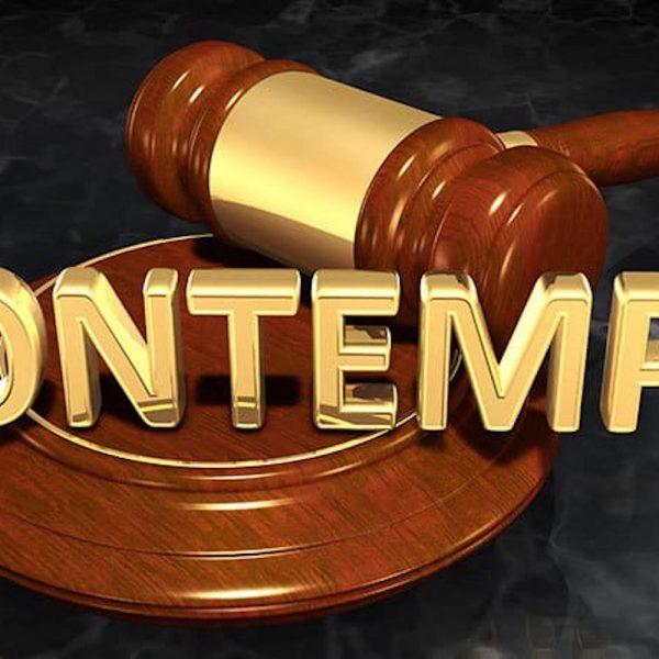 Contempt Actions