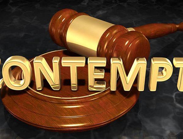 Contempt: Punishment and Modifying a Decree
